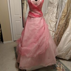 Tiffany Pink pink and pink ballgown